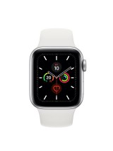 Часы Apple Watch Series 5 GPS 40mm Aluminum Case with Sport Band Серебристые
