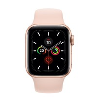 Часы Apple Watch Series 5 GPS 40mm Aluminum Case with Sport Band Золотые