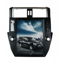Tesla style monitor for Toyota Land Cruiser Prado 2014-2018